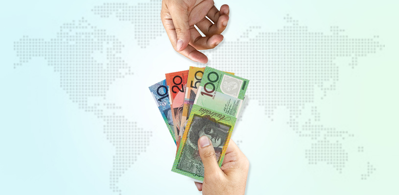 send money from India to Australia