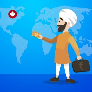 How to send money from Punjab to Canada?
