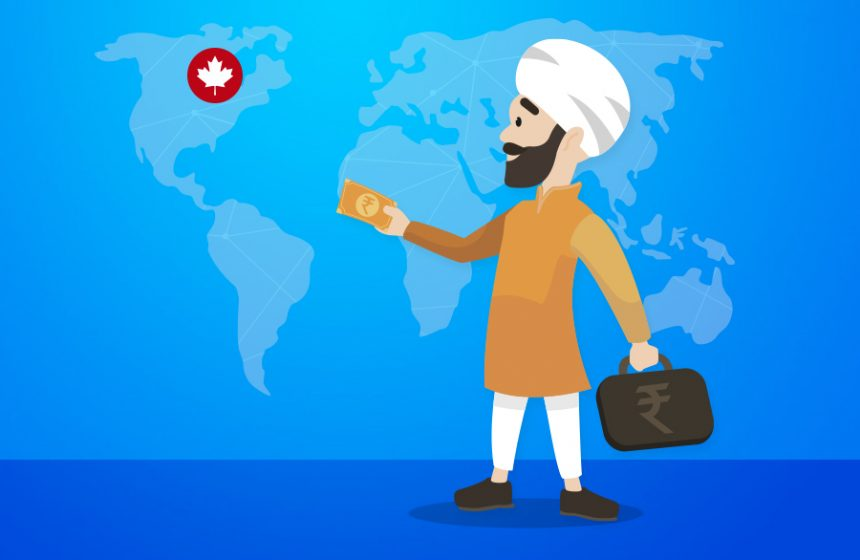 Send money from Punjab to Canada