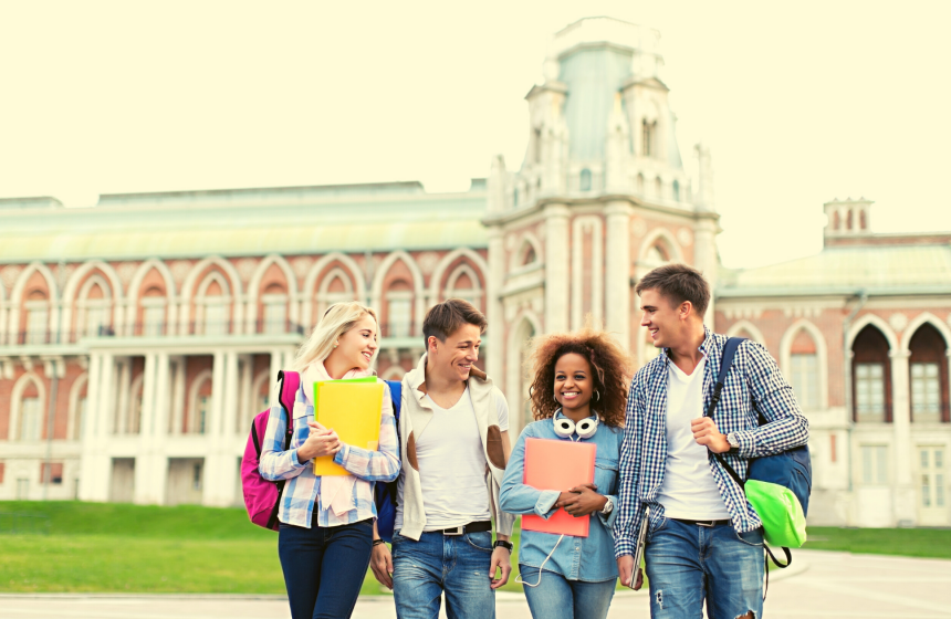 Pay fees to a foreign university